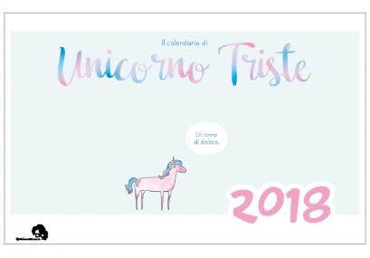 unicorno-triste-blasich-calendario-2018-grafica